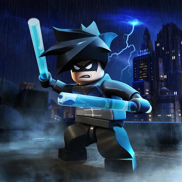 Nightwing lego batman 2 minifigures lego educational resource