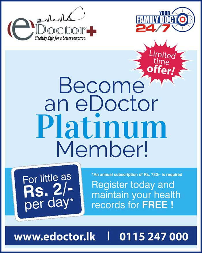 Doctor advice for Rs 2/- per day.