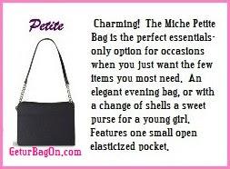 Petite Base Bag
