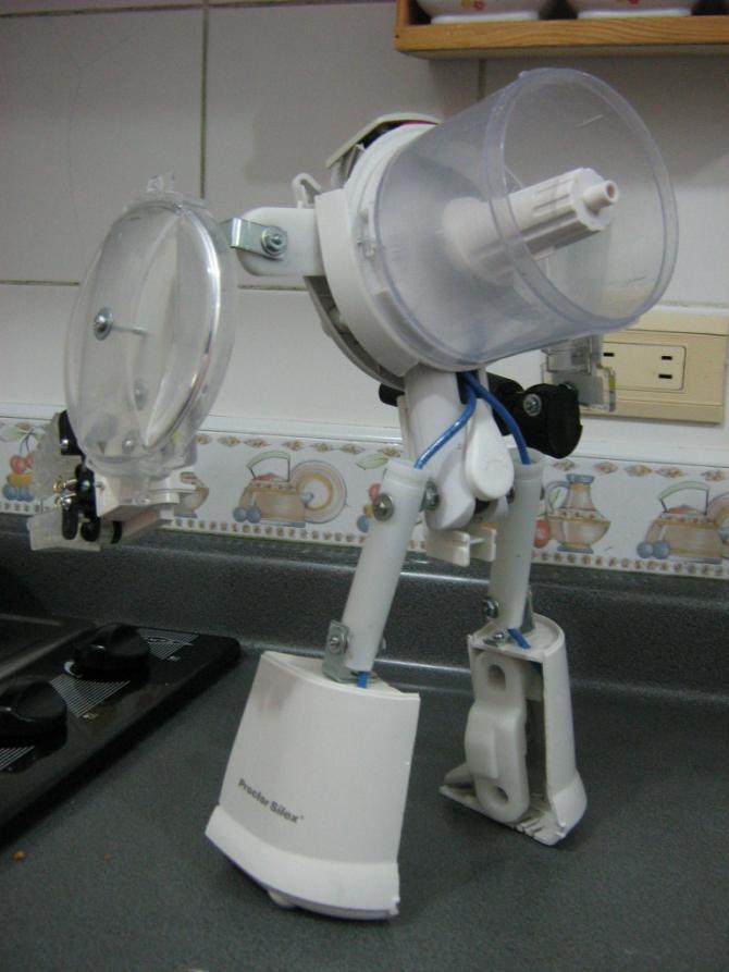 Robots hechos en casa para adolescentes