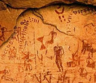 tuareg rock art