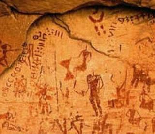 tuareg rock art