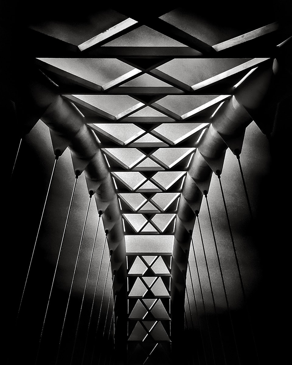 Humber River Pedestrian Bridge Toronto Canada