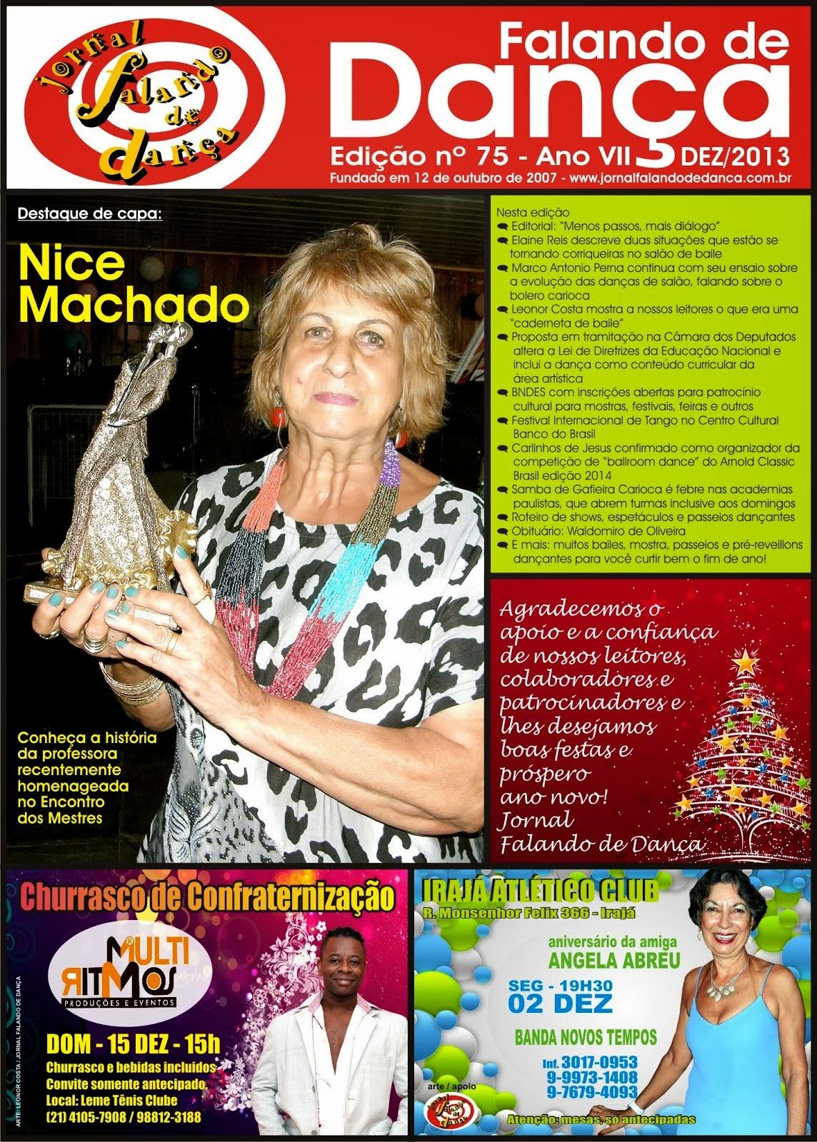 Leia on line a ed. 75 (Dezembro/2013) do JFD