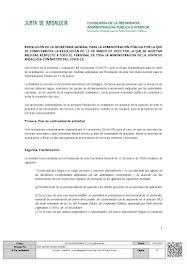 RESOLUCIÓN DE LA SECRETARÍA GENERAL PARA LA ADMINISTRACIÓN PÚBLICA POR LA QUE SE COMPLEMENTA LA RES