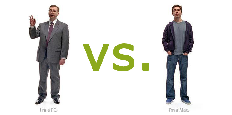 PC vs. Mac Brand Personality