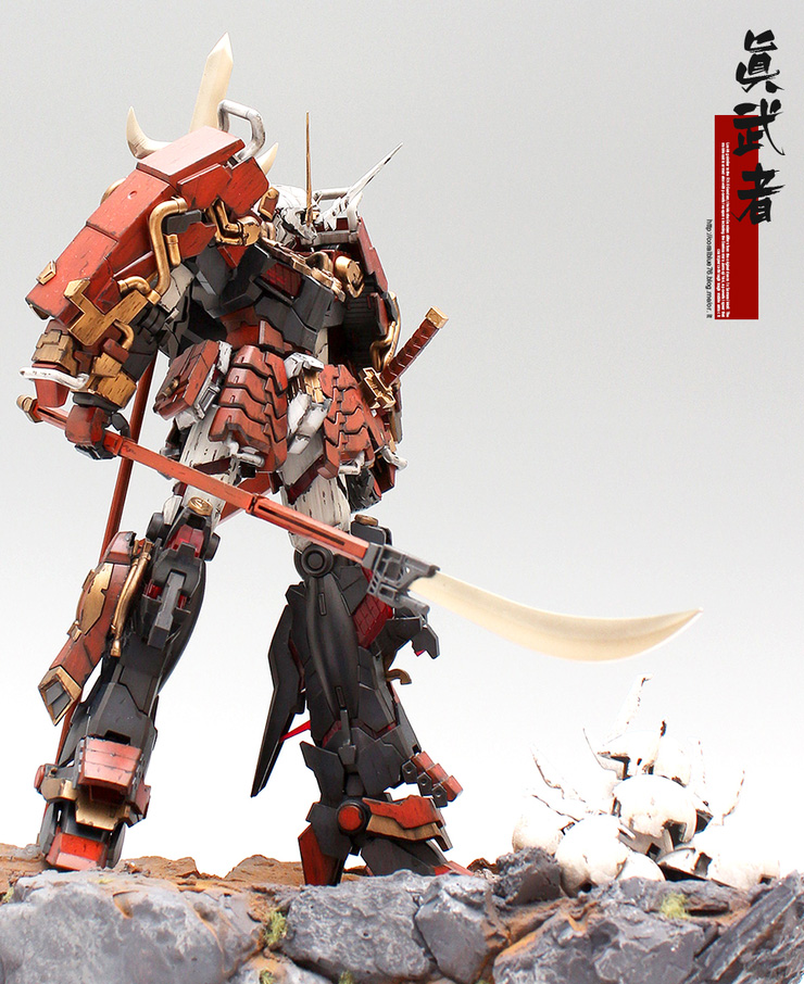 MG 1/100 Musha Unicorn Gundam [GBWC 2015 Korea Entry Build] - Custom Build by Coralblue76 [Updated 8/28/15]