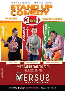 Stand-Up Comedy Vineri 24 Iulie Suceava