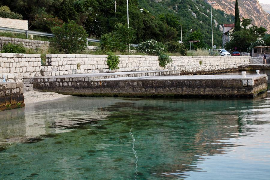 Kotor Bay, Montenegro, sea