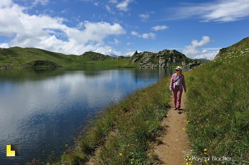sur les berges du lac noir valérie blachier photo pascal blachier