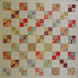 Four patch charmquilt
