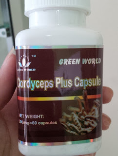 cordyceps plus capsule green world