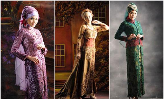 Gambar Model Kebaya Muslim 2015