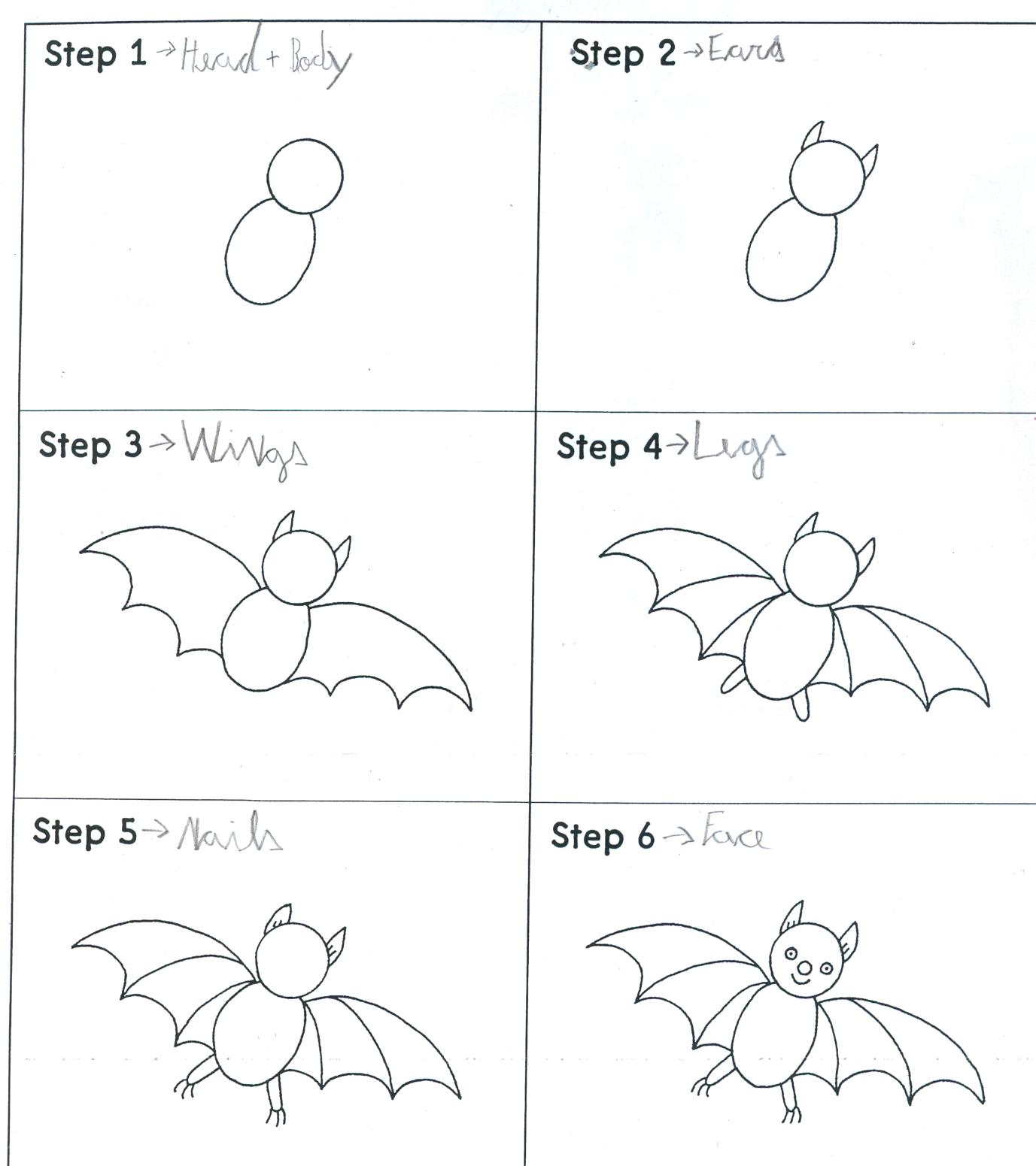 let 39 s go how to draw a bat