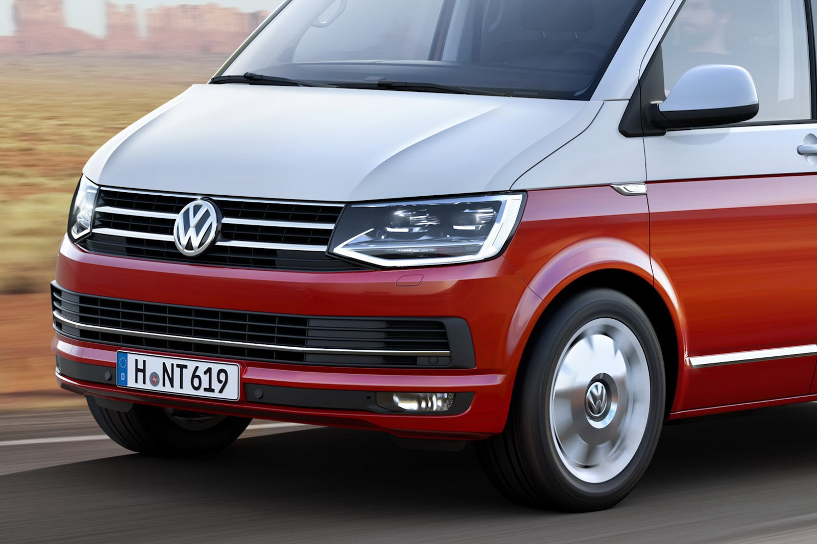 This Is Vw S All New T6 Transporter Van Carscoops