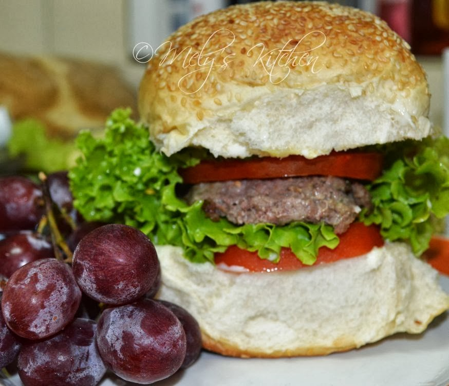 Beef Burger - Mely\'s kitchen