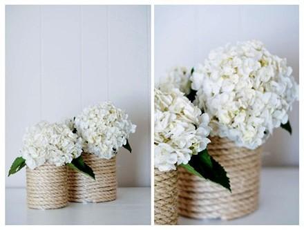 Macam-macam Kerajinan Tangan, Vas Bunga Dari Kaleng Bekas 6
