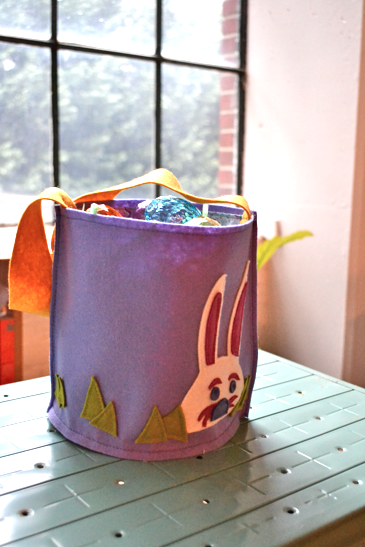 Easter Bucket Basket Tutorial DIY