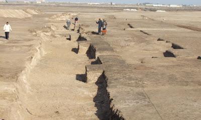 Hyksos buildings discovered at the Tel Habuwa dig