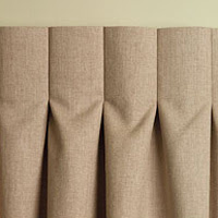 Pleated Curtains For Curtain Box : High Street Market: Designer Tip: Inverted Box Pleat Drapery