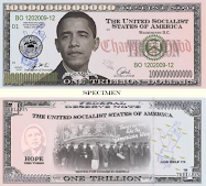 Obama 1 Trillion Note