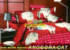Harga Bedcover Set Fata 3d Anggora Cat Uk. 180 Jual