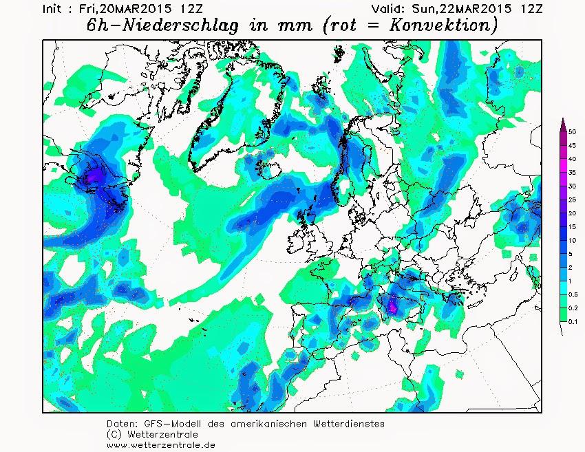 Fuertes lluvias Canarias domingo 22 marzo