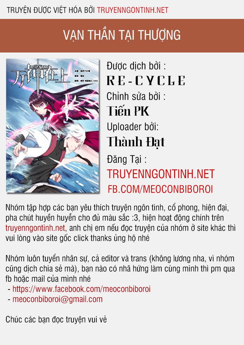 Vạn Thần Tại Thượng Chapter 0 - upload bởi truyensieuhay.com