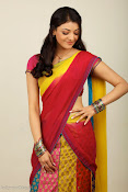 Kajal Agarwal Cute Half Saree Hot photo Shoot-thumbnail-9