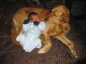 Sierra's new playmate baby Benjamin