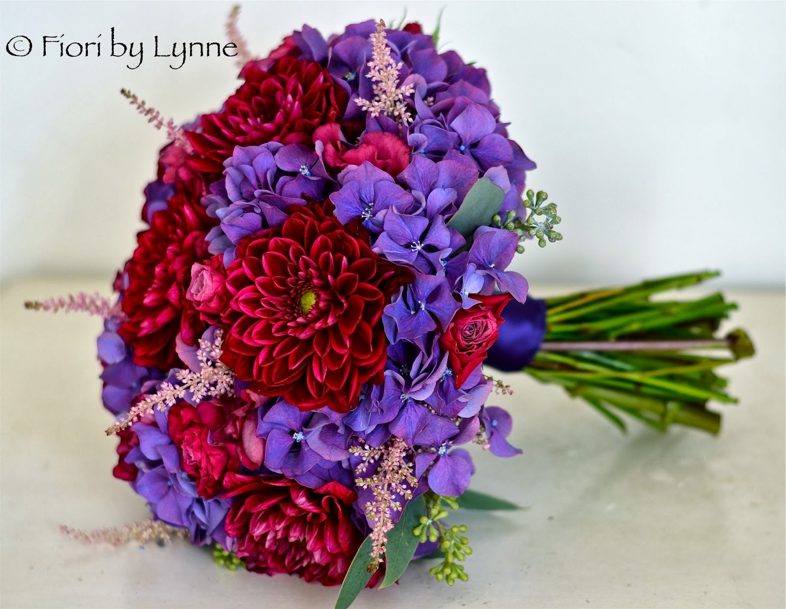 Wedding Flowers Blog: Hannah\'s Vintage Glamour Wedding Flowers, New ...