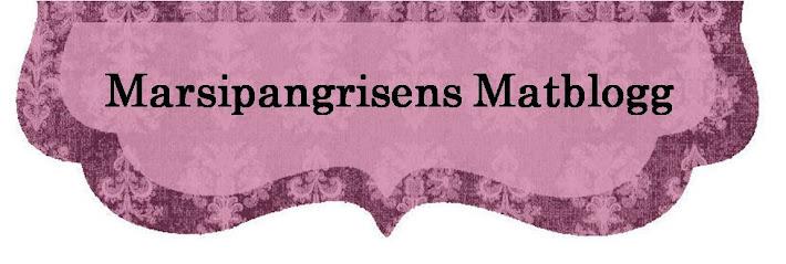 Marsipangrisens Matblogg