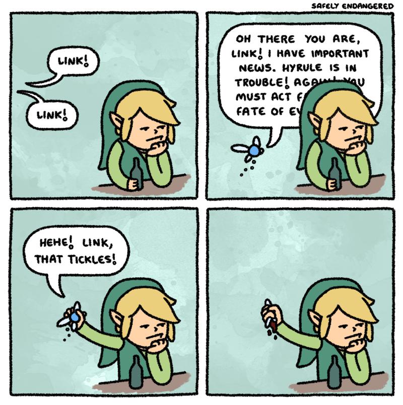 Funny Link Comic