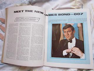 George Lazenby,James Bond, On  Her Majesty's Secret Service,Klaus Kinsky,Sartana,Twisted Nerve,Clint Walker,Robert Stack,Shaw,Wandering Swordsman,Dick Bogarde,Remagen