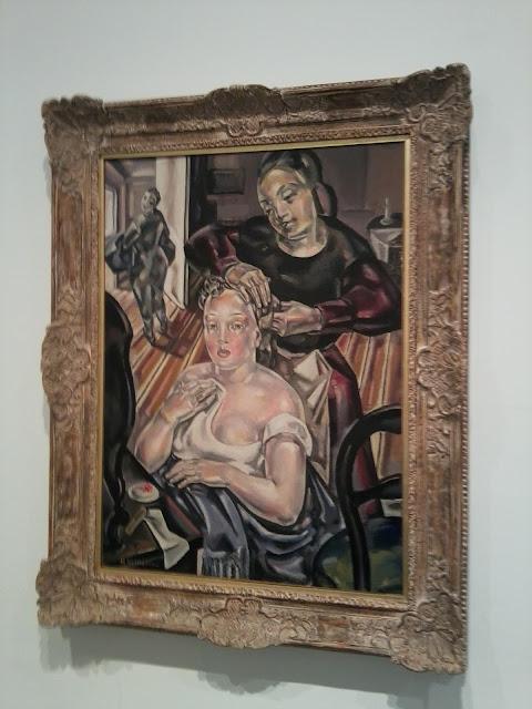 María Blanchard, Museo Reina Sofía, Cubismo, Pintura figurativa, La toilette,