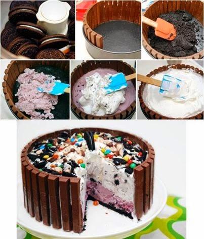 Candy Shop Ice Cream Cake recipe.