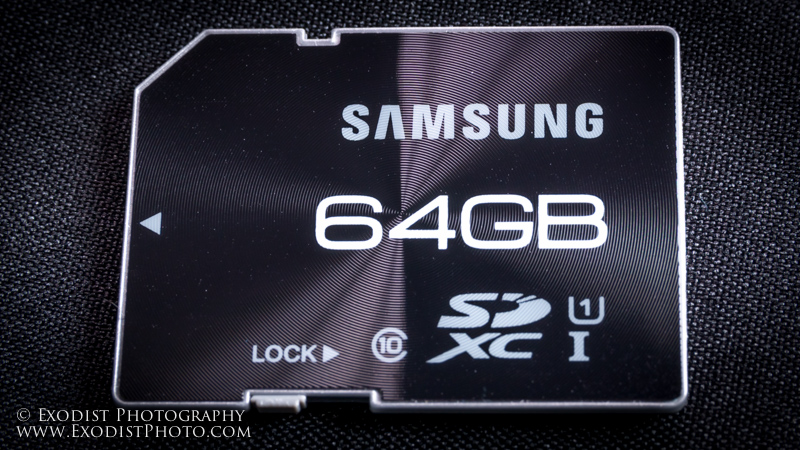 Samsung Pro 64GB SDXC Memory Review