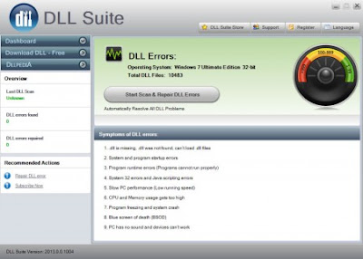 download missing DLL files for free for Windows 7, Windows 8, Windows Vista and Windows XP
