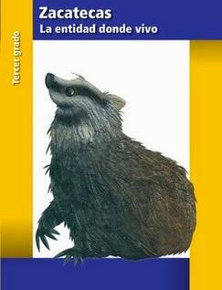Zacatecas La Entidad Donde Vivo Tercer Grado (2014-2015) Libro de Texto PDF