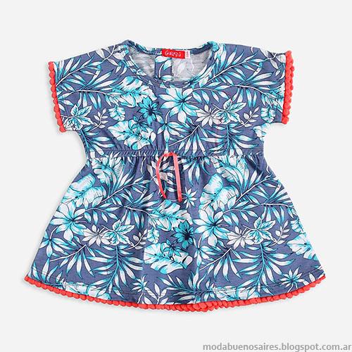 Vestidos de bebé primavera verano 2016 Gulubú.