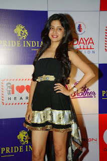 Actress Poonam Kaur Latest Pictures in tail Dress at CCL Charity Dinner  11