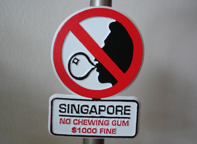 Singapur Sakız Yasağı