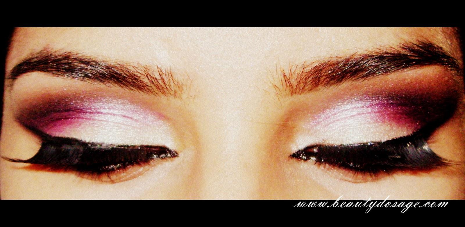 Tutorial: Arabic Bridal eye makeup Beauty Dosage