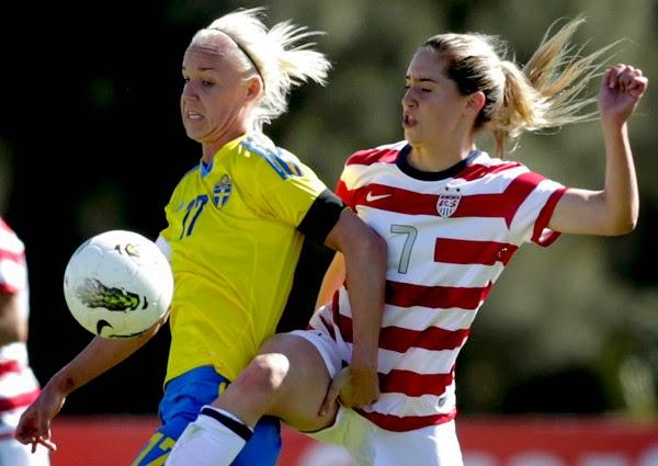 smešne slike: ženski fudbal sjedinjene američke države protiv Švedske