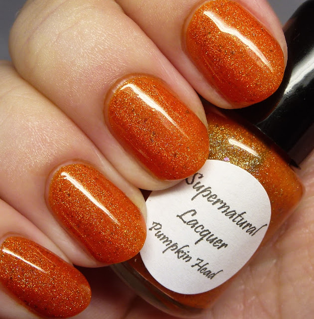 Supernatural Lacquer Pumpkin Head