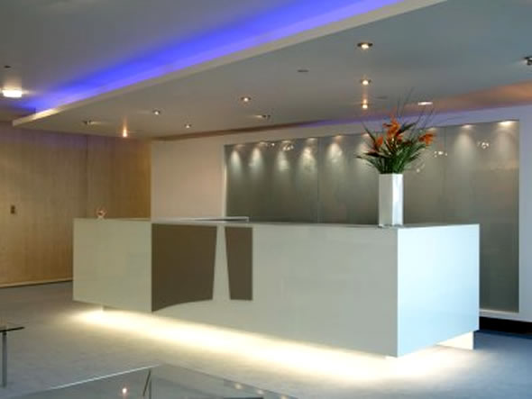 Commercial Interior Design Ideas Pasfield Park Contemporary Lighting
