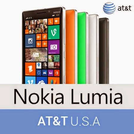 Liberar Nokia Lumia 520 / 925 AT&T con IMEI 353045 y 359205
