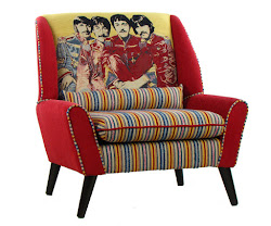 Poltrona inglese The Beatles Patchwork COLLINS & COOPER