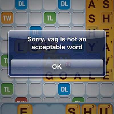 Words With Friends Vag