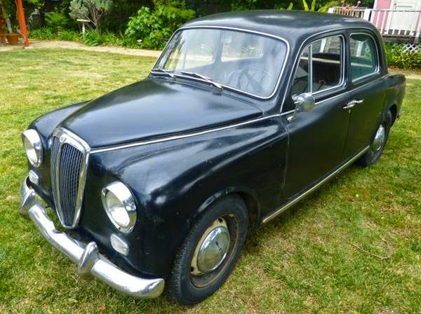 Daily Turismo: 5k: Black Espresso: 1959 Lancia Appia Series II Berlina